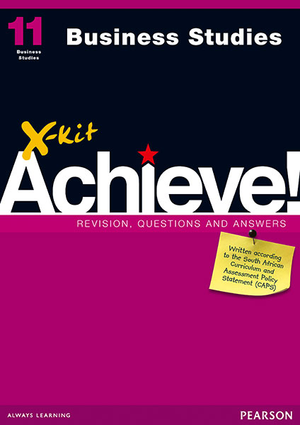 X-kit Achieve! Grade 11 Business Studies Study Guide | X-Kit
