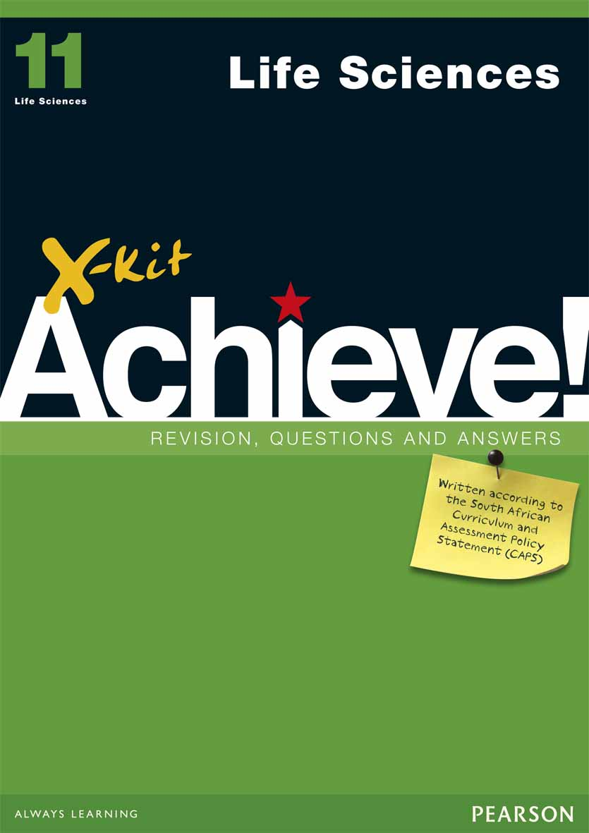 X-kit Achieve! Grade 11 Life Sciences Study Guide | X-Kit